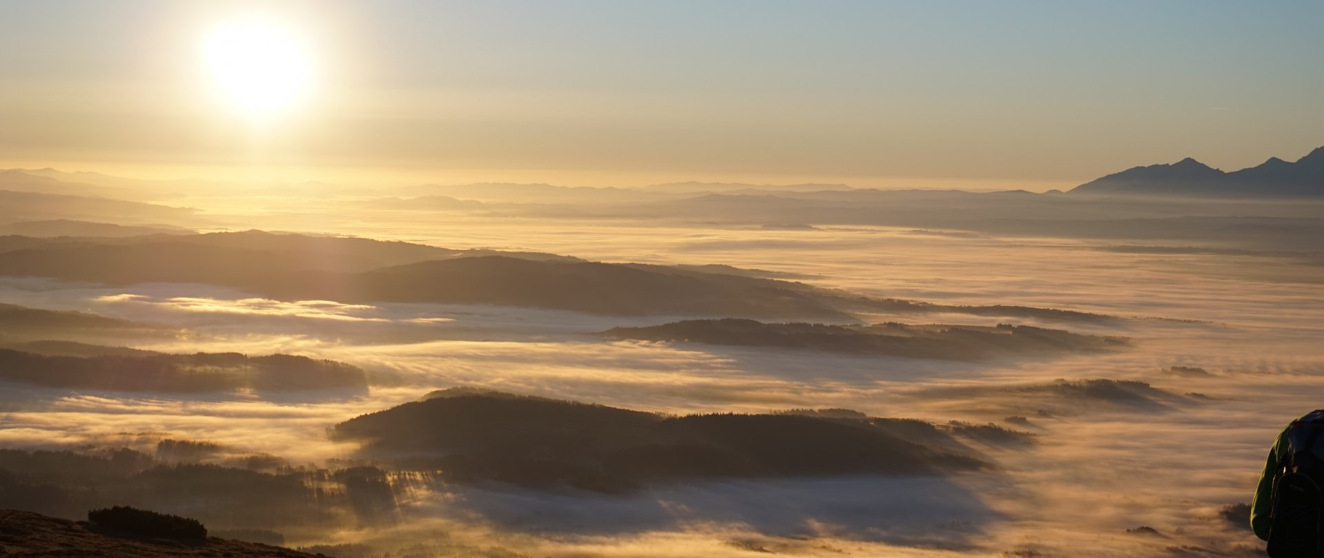 Nationalpark Babia Gora - Babia Gora (Diablak) 1725 m über dem Meeresspiegel