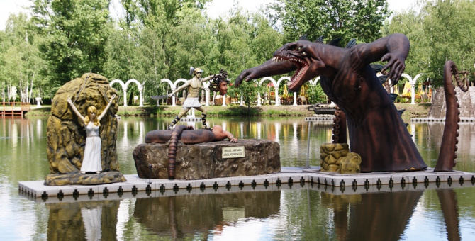 Dinozatorland in Zator (57 km)