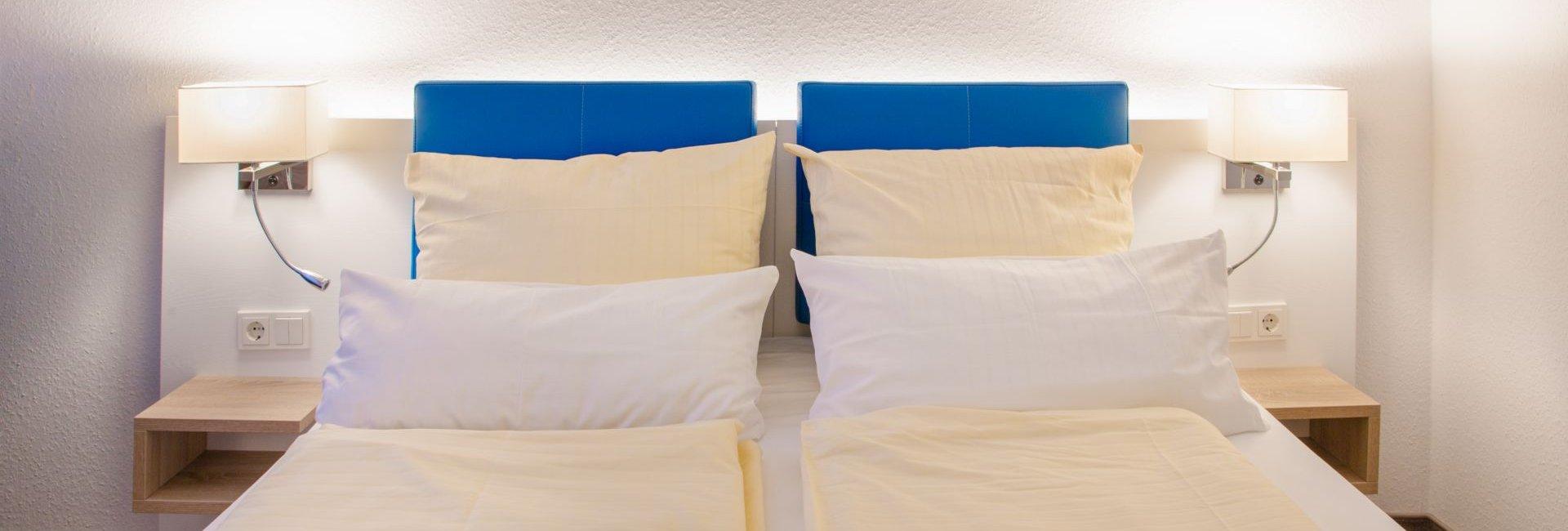 Fast wie zuhause: Unsere Zimmer im Hotel NordRaum
