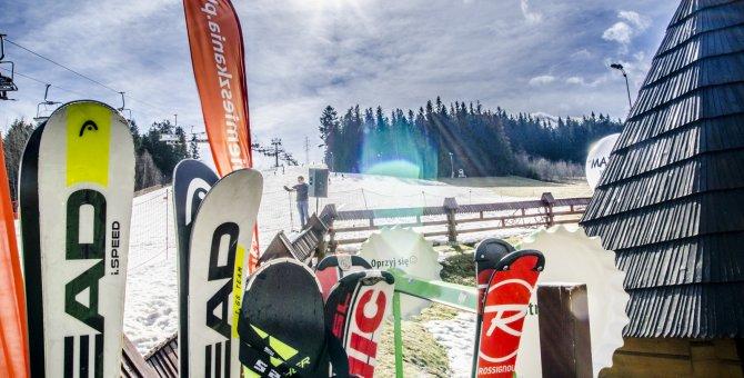 Stok narciarski w Spytkowicach