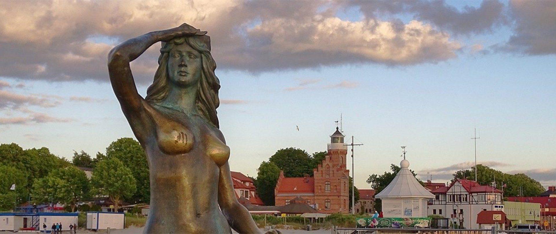 Meerjungfrau aus Ustka