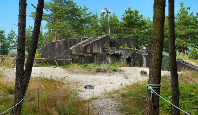 Blücher Bunkers in Ustka