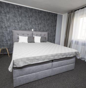 Pohodlné postele...