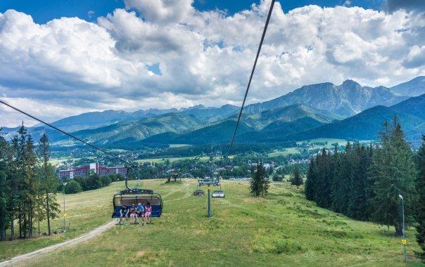 Kolej linowa na szczyt Gubałówki