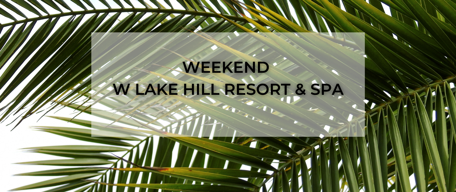 Weekend w Lake Hill Resort & SPA - 13-18 lipca