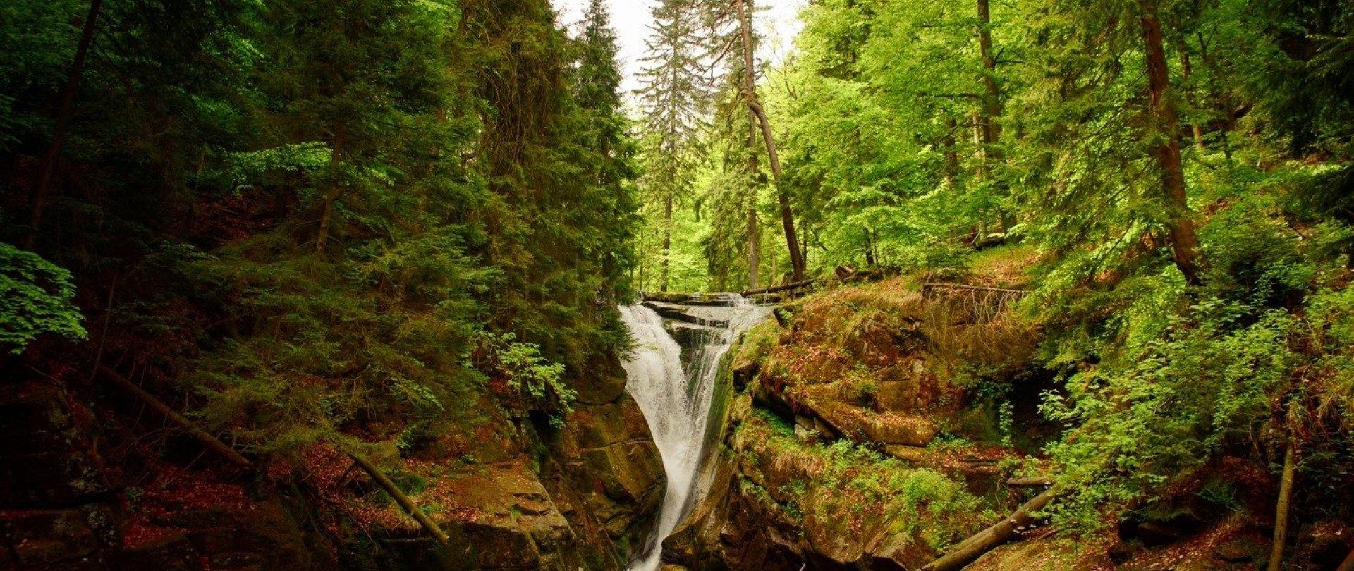 Wodospad Szklarki – wycieczka z dziećmi – 4km