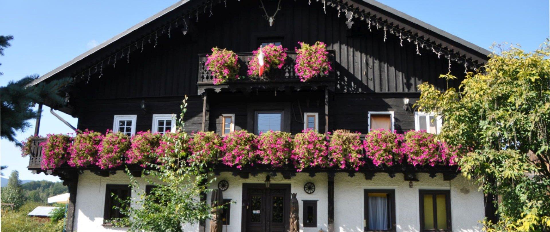 Tiroler Häuser und das Tiroler Museum