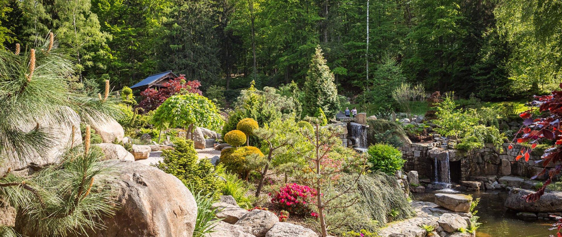 SIRUWIA Japanischer Garten