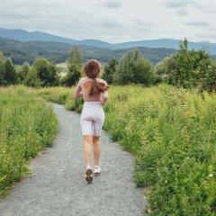 Ścieżka przy Zalewie Sosnówka