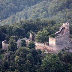 Chojnik Castle in Zachełmie
