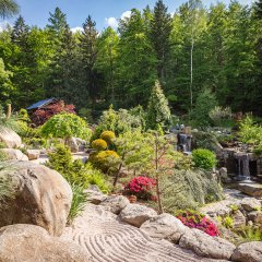 SIRUWIA Japanese Garden
