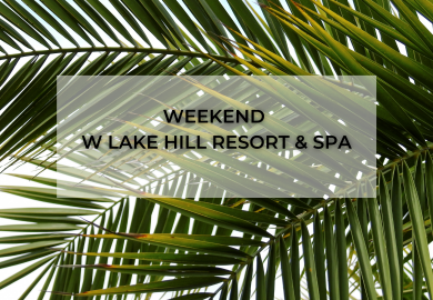 Víkend v Lake Hill Resort & SPA - 13. - 18. července