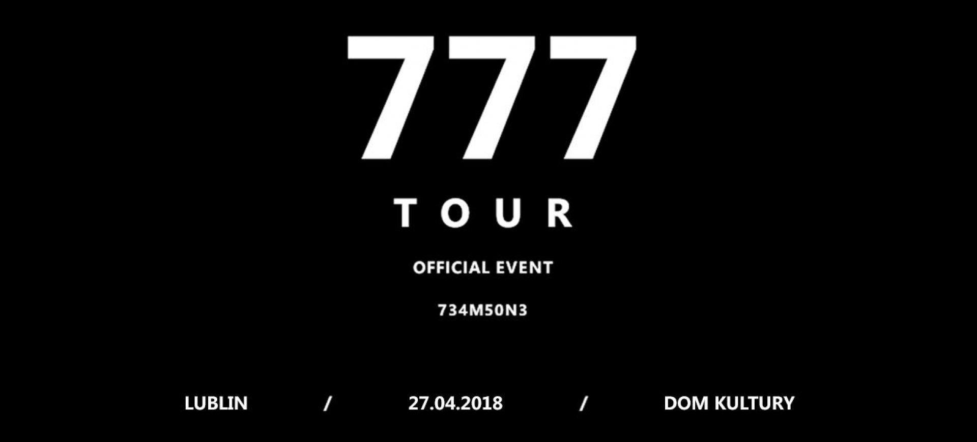 Zeamsone / 777 TOUR / Lublin