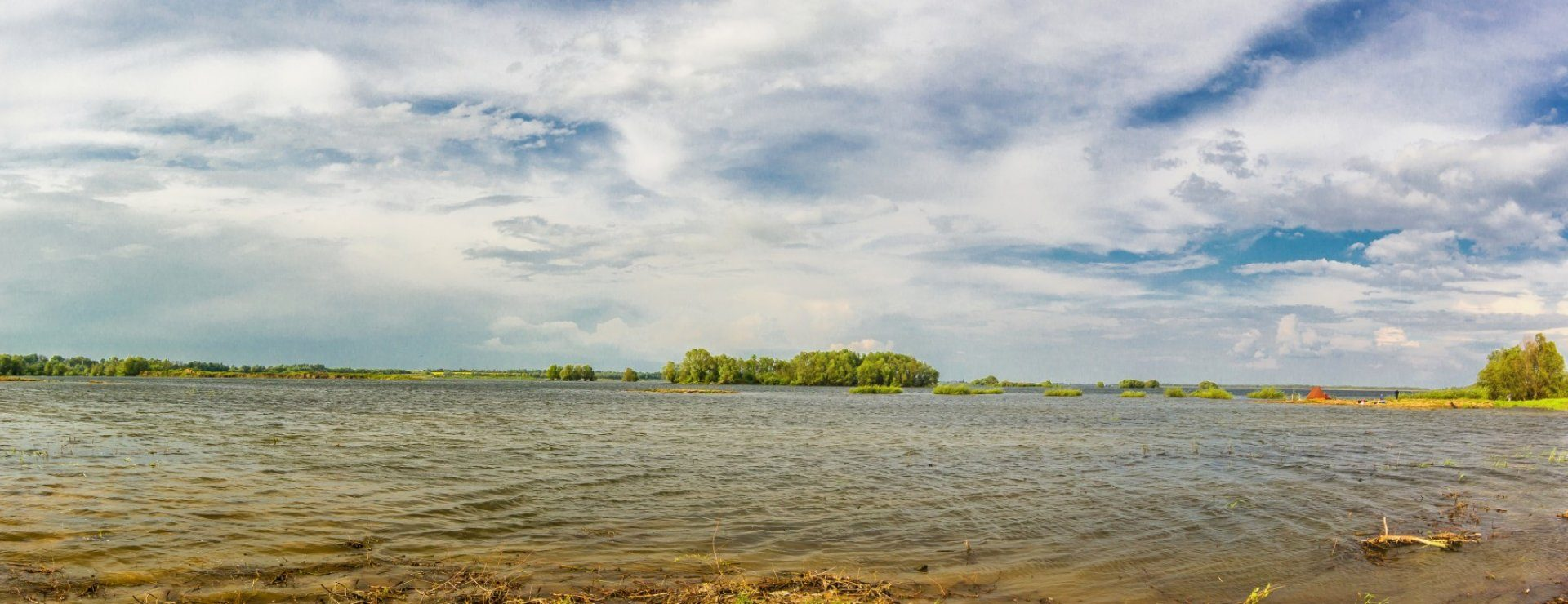 The Mietków Lagoon