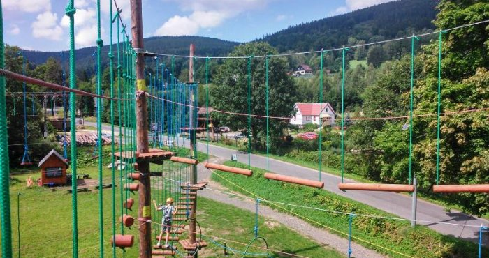Park Linowy w Kletnie