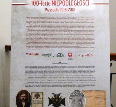 """Wystawa """"100 lecie Niepodległości. Przysucha 1918 - 2018"""""""
