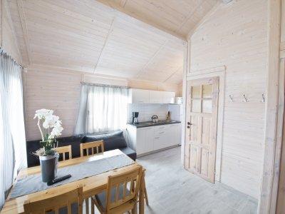 Domek 5-osobowy (sypialnia i salon)
