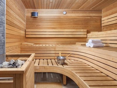 Fitness and Sauna