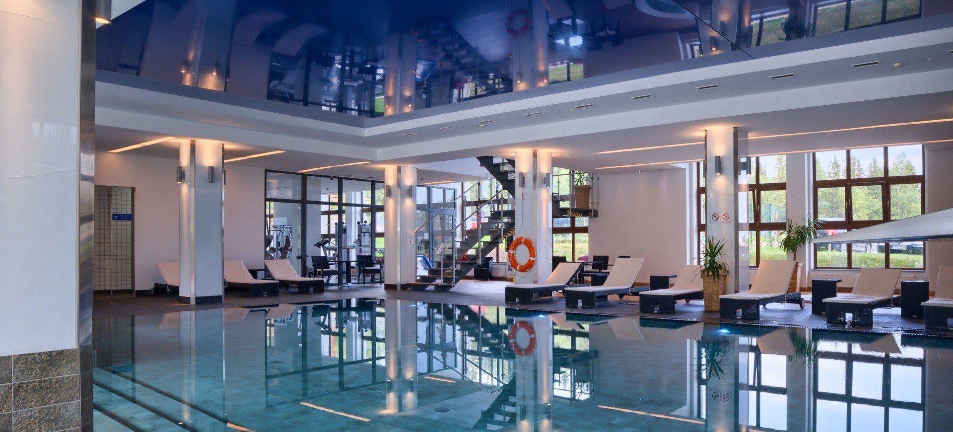 Basen W Zakopanem Hotele Nosalowy Dwór Resort Spa