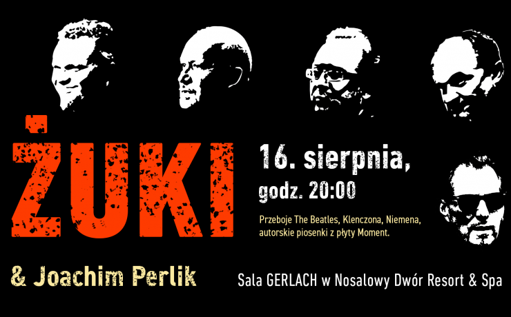 Koncert ŻUKI & Joachim Perlik