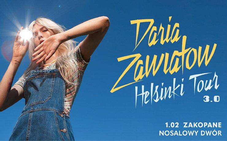Daria Zawiałow w Nosalowym Dworze