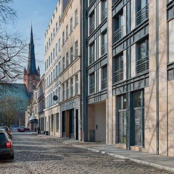 Stettin ist eine Stadt an der Grenze zu Deutschland
