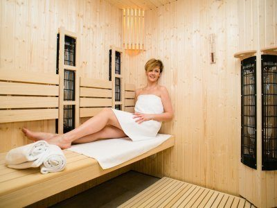 Steam and infrared sauna