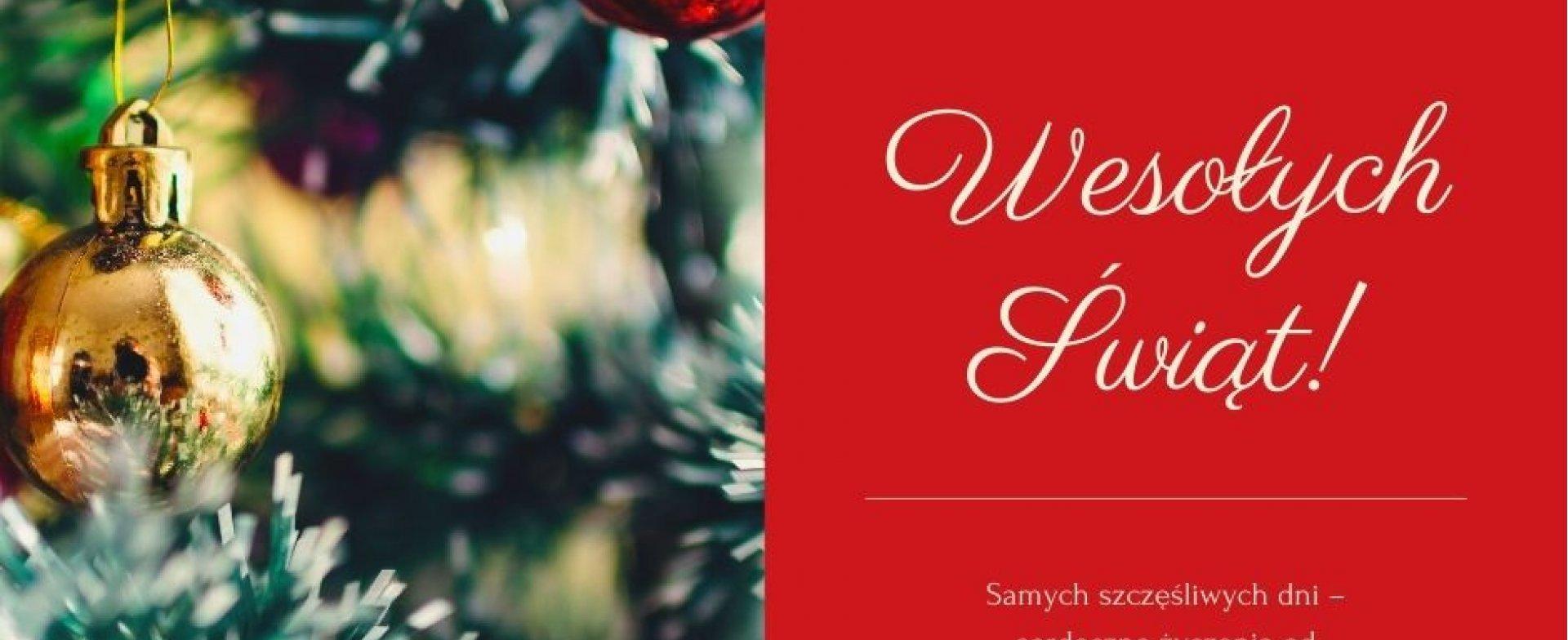 Wesołych Świąt Bożegonarodzenia