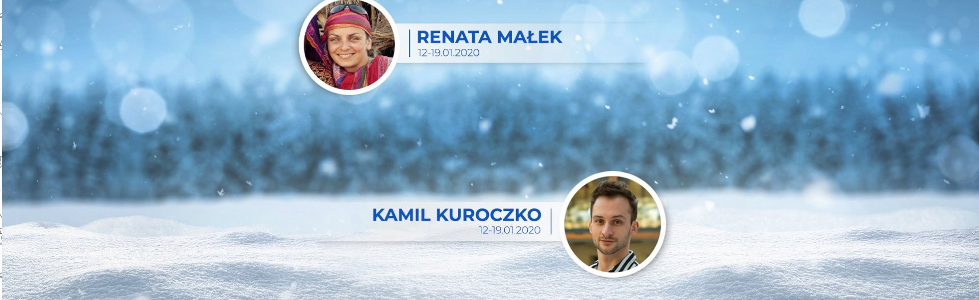FERIE ODKRYWCÓW - I tydzień (13-19.01.2020) z Renatą Małek i Kamilem Kuroczko
