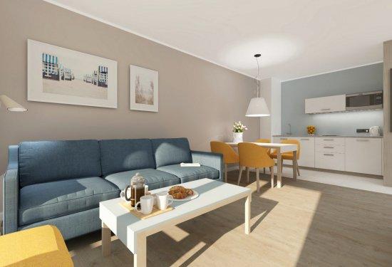 Komfortowe apartamenty nad morzem