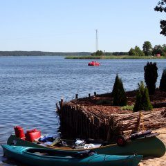 Entspannen am See - Nutzen Sie die Reize des Strandes am Karsińskie-See