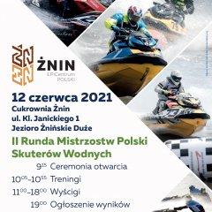 12.06.2021 II Runda Mistrzostw Polski w skuterach wodnych