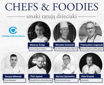 Kolacja Charytatywna CHEFS & FOODIES
