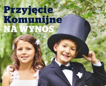 Przyjęcie komunijne na wynos