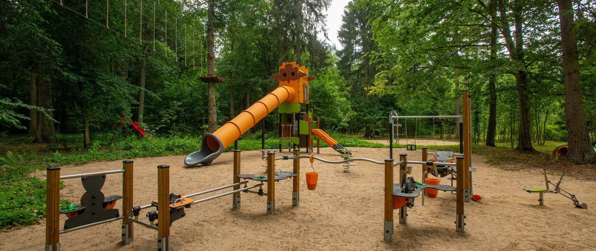 Plac zabaw dla dzieci i młodzieży