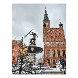 Neptunus vinter Gdańsk