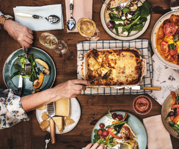 Skomponuj rodzinny obiad dla 4 osób!
