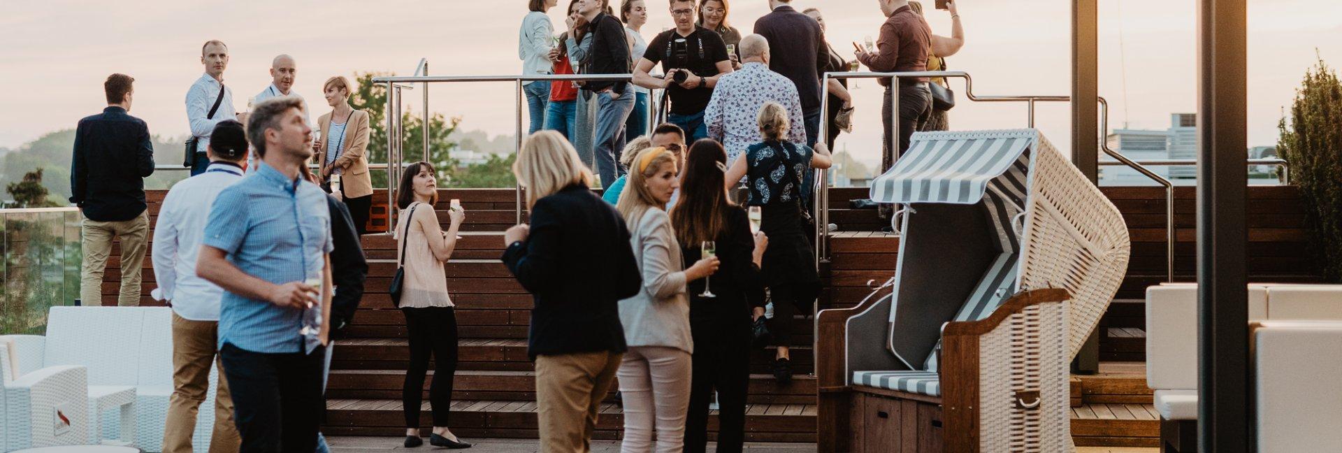 Imprezy firmowe i integracyjne w Gwieździe Morza