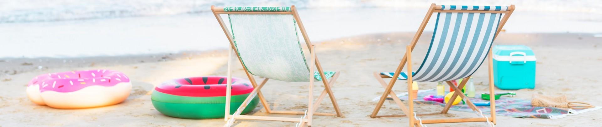 Wyloguj się na plaży