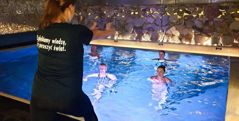 Zajęcia fitness w basenie - AQUA MENTAL