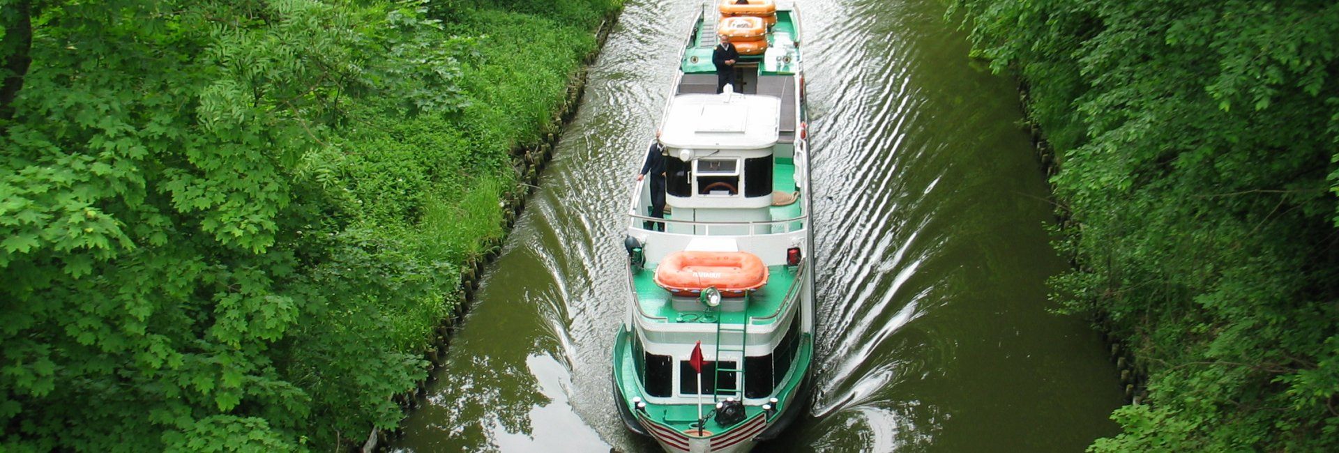 Elbląski Canal connecting Ostróda with Elbląg (one of the waterways connects Stare Jabłonki with Ostróda)