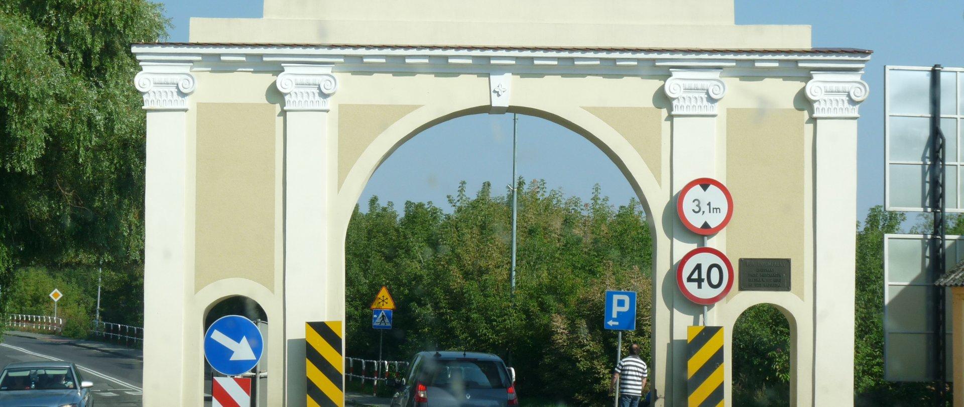 Napoleonian Gate in Ślesin