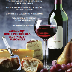 V Edycja Kolacji z Winem i Serem Sandomierszczyzny