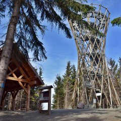 Góra Borowa (853 m n.p.m) - Wieża widokowa