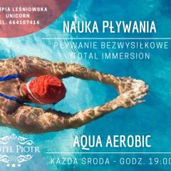 Powrót Aqua aerobicu i nauki plłwania od 12 lutego!