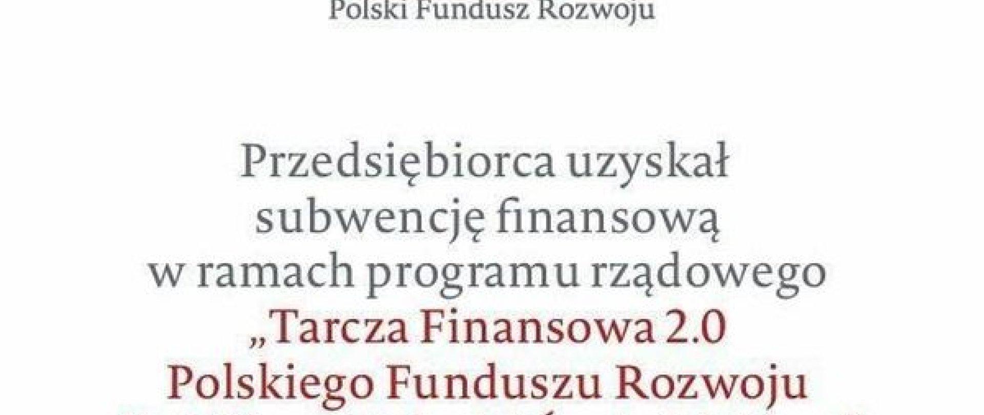 Hotel Witek uzyskał subwencję finansową