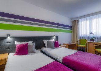 Pokój standardowy z dwoma pojedynczymi łóżkami