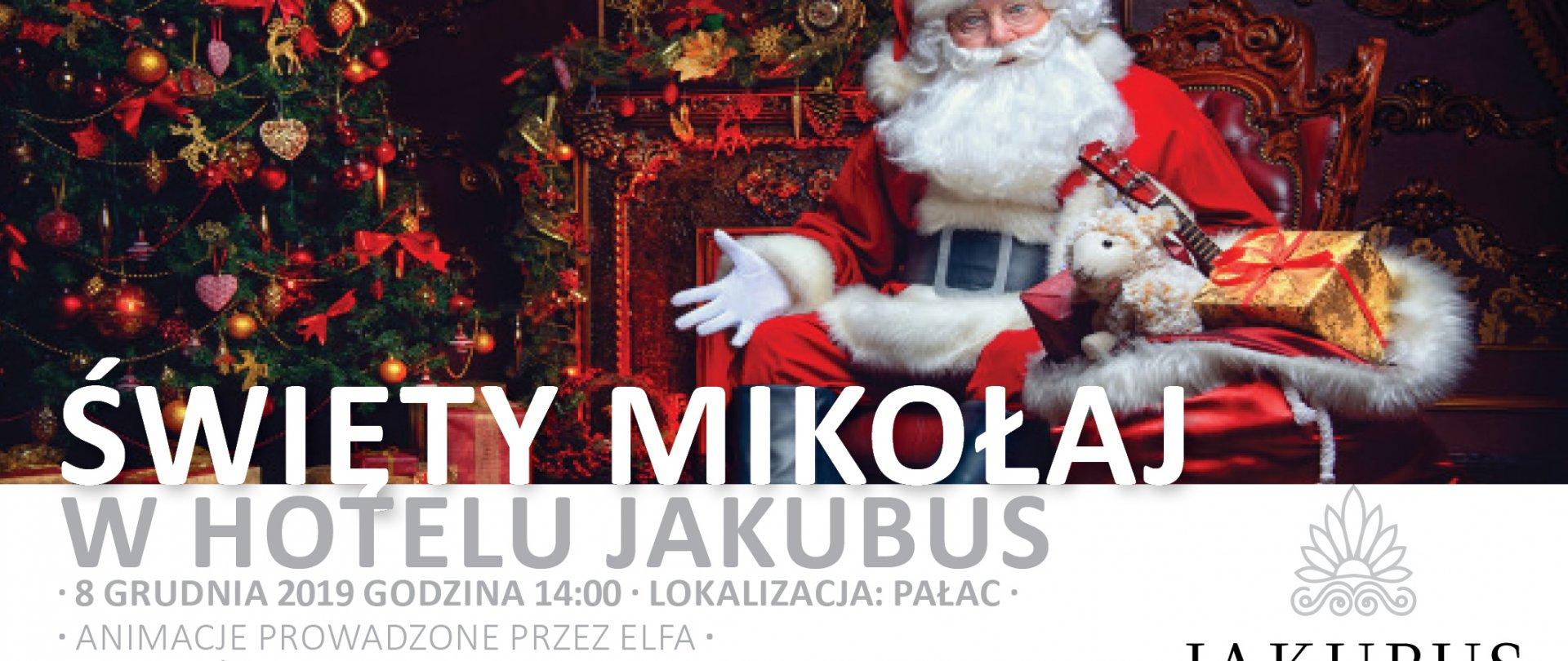 Święty Mikołaj w Jakubusie 08.12