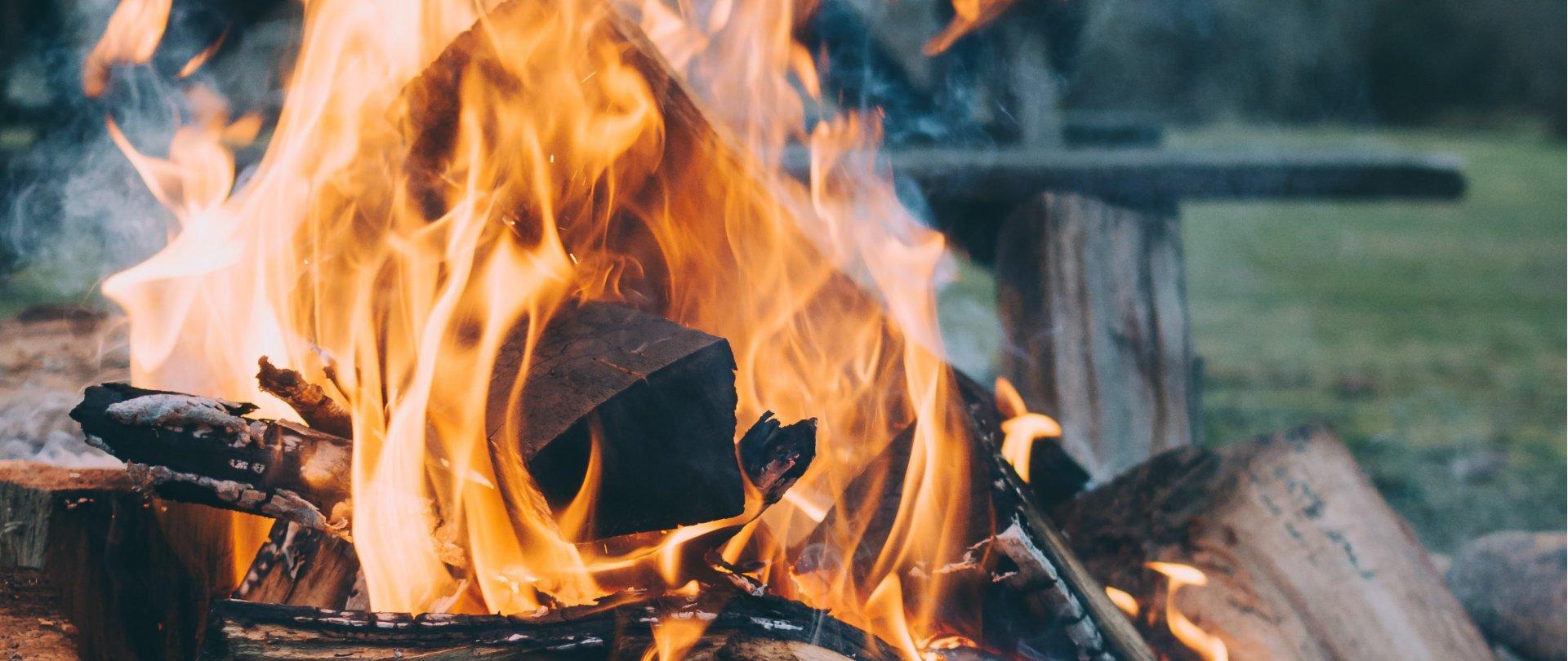 Ciepło, cieplej, gorąco... przy ognisku w Jakubusie