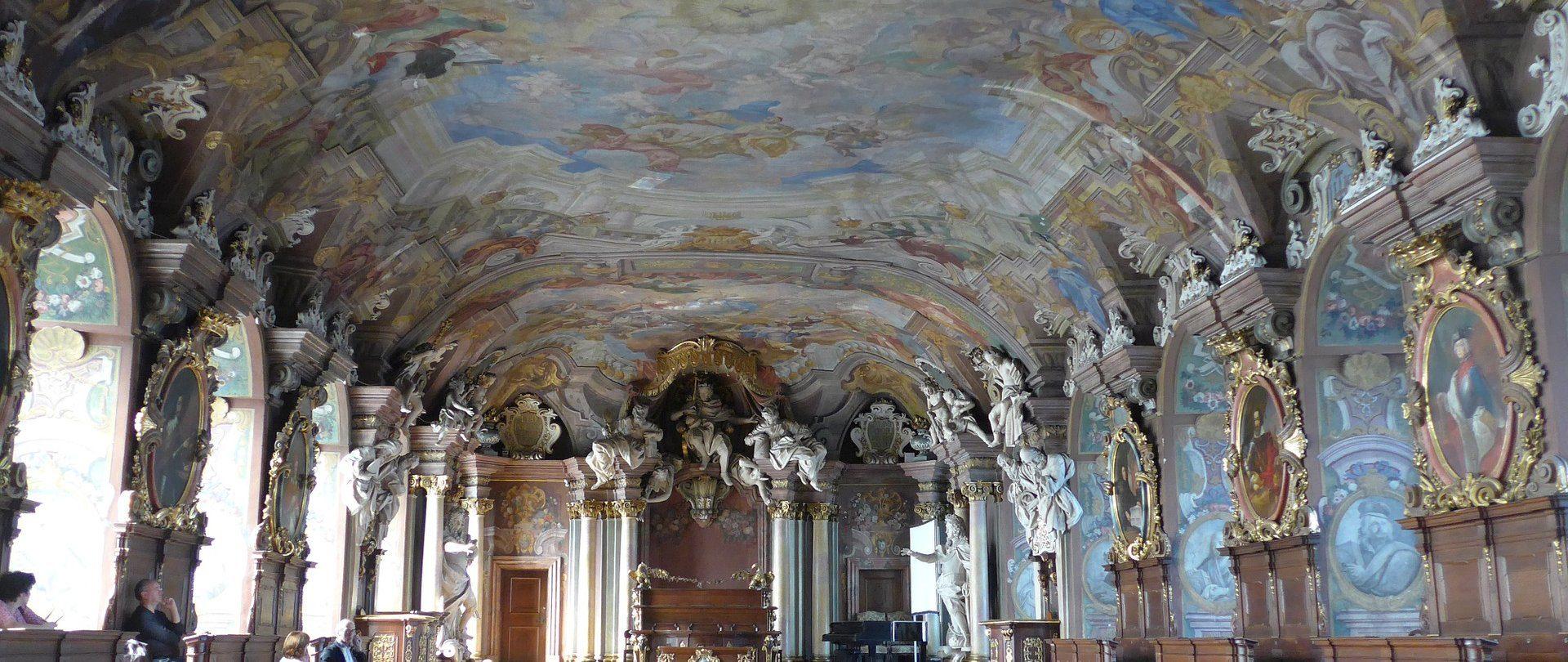 Aula Leopoldyńska, Wieża Matematyczna, Oratorium Marianum